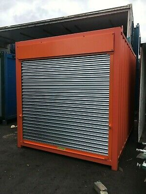 10ft x 8ft ROLLER SHUTTER SHIPPING CONTAINER - Liverpool
