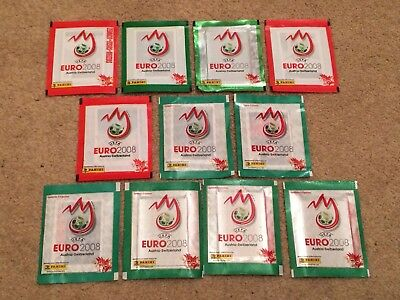 Panini Euro 2008 - 11 different sealed packet variations