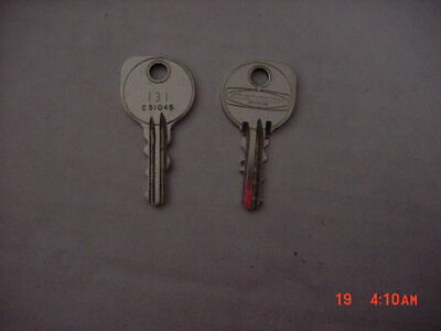 OEM Mercury Marine Outboard Replacement Ignition Key #105