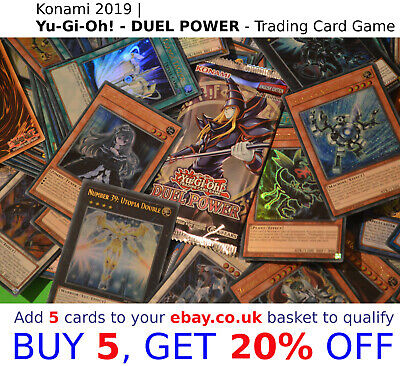 Yu-Gi-Oh TCG DUEL POWER 2019 | SELECT YOUR > Yugioh ULTRA RARE cards >> DUPO