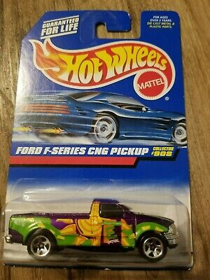 Hot Wheels Ford F-Series CNG Pickup 1999 #908 New on Card READ DETAILS