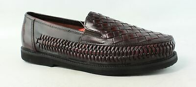 abf1bd0dc37 Deer Stags Mens Tijuana Cordovan Cordovan Loafers Size 9.5