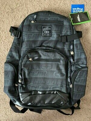No Fear Tonal Back Pack Travel Luggage Everyday Casual Bag NWT