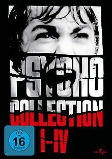 Psycho Collection I-IV [4 DVDs]   DVD   Zustand gut