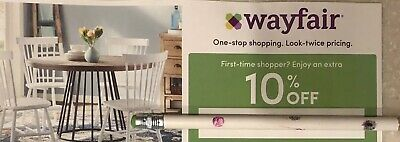 Wayfair 10% Off Coupon First Time Shopper Promotional Code Promo Exp 5/30/2019