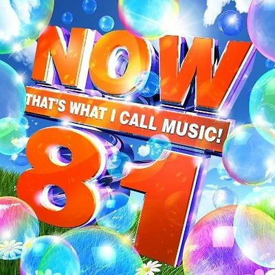 Now That's What I Call Music 81: 2CD   2012. New & Sealed. (Next Day Delivery).