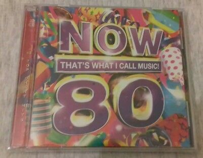 Now That's What I Call Music! 80: 2CD | 2011. New & Sealed. (Next Day Delivery).