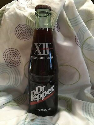 1999 Big 12 Conference Championship Dr. Pepper Commemorative 8oz Bottle