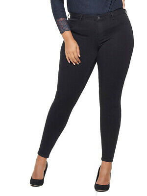 Carmakoma by Only Jeans Femmes carthunder push up-Skinny Fit-Grandes Tailles