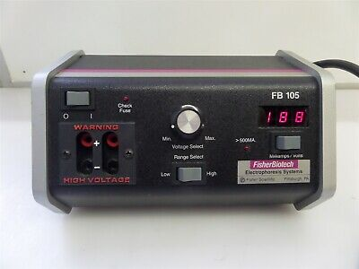 Fisher Biotech FB-105 Electrophoresis Systems Power Supply