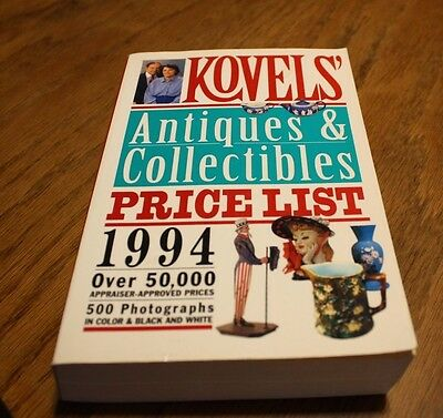 Kovels Antique & collectibles price guide
