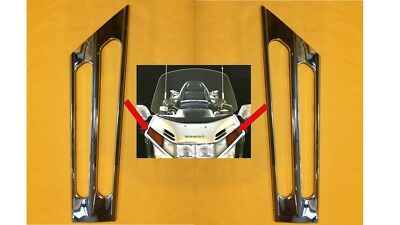 Honda Goldwing 1500 Front Turnsignal Grilles Shown Chrome A2-2