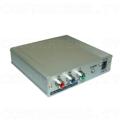 Component HD to Video Converter  (3 Years Warranty)  CPT-387HD