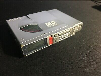 Sony Portable Mini Disk Recorder MZ-R37 Working