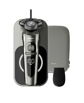 New Philips Series 9000 Wet Dry Prestige Electric Shaver Sp9860/13