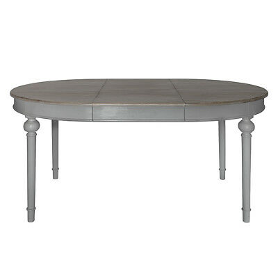 Frank Hudson Gallery Direct Maison Round Extending Table Dark Grey