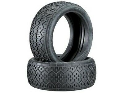HB RACING - Coppia gomme BEAMS TIRE Red Soft 2St/Pink/ 1/8 Buggy (Solo Gomme )