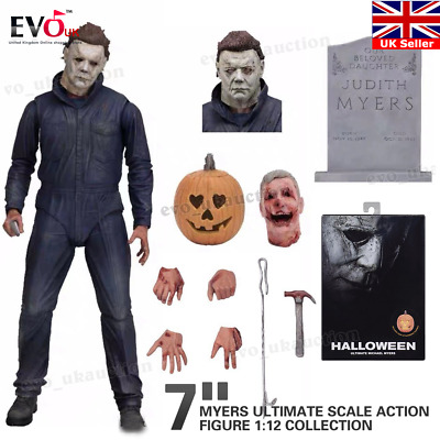 "7"" NECA Halloween Michael Myers Ultimate Scale Action Figure 1:12 Collection"