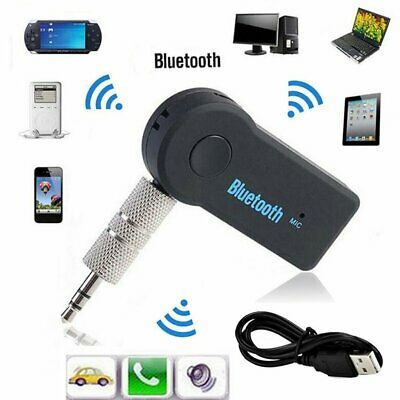2//5/10x Wireless Bluetooth 3.5mm AUX Audio Stereo Music Receiver Adapter Lot MT