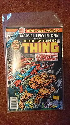 Marvel Two In One Annual 1 - Thing And Liberty Legion