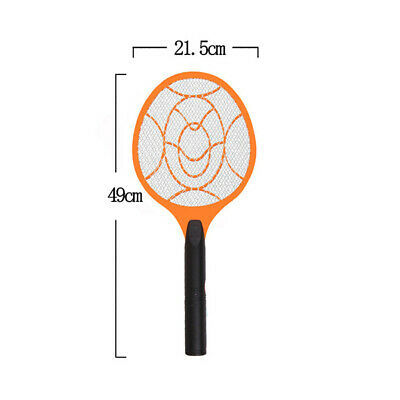 1pc Electronic Fly Swatter Mosquito Bug Insect Kill Zapper Racket Useful FROM AU