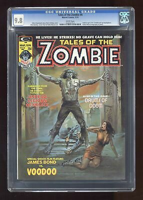 Tales of the Zombie Magazine #4 1974 CGC 9.8 0502507013