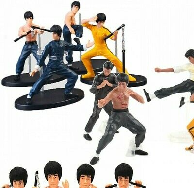 4Pcs/Set New Kung Fu PVC Action Figures Collection Toys Free Shipping New