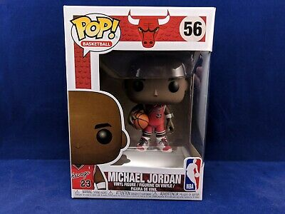MICHAEL JORDAN 56 Funko Pop Exclusive Target Chicago Bulls NBA Basketball Rookie