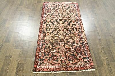 Traditional Vintage Persian Wool  2.6 X 5.2 Handmade Rugs Oriental Rug Carpet