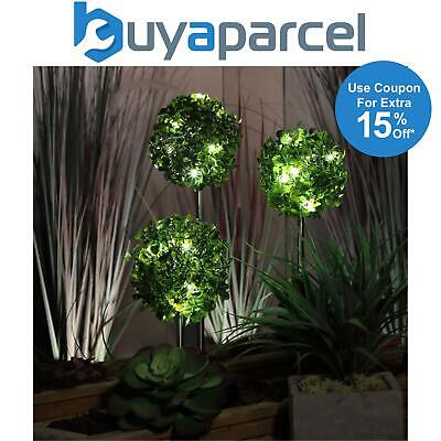 Solar Powered Artificial Rose Flower Blossom Led Fairy