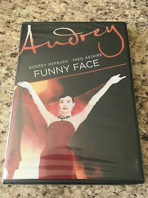 FUNNY FACE DVD Audrey Hepburn Fred Astaire Stanley Donen Sealed Brand NEW