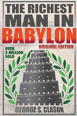 Richest Man In Babylon - Original Edition by George S. Clason (English) Paperbac