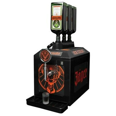 Brand New Jagermeister 3 Bottle Tap Machine Dispenser