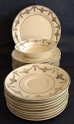 """Taylor, Smith & Taylor ~ """"1825"""" ~ PLATES and SAUCERS ~ Buy by the Piece ~ 1940s"""