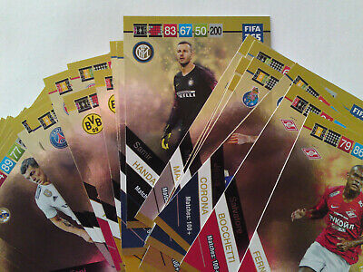 Panini Adrenalyn Xl Fifa 365 2019 Update Fans Favourite Full Set 32 Cards