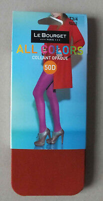 Collant Opaque Le Bourget - 50 D All Colors - Rouille  - Taille 3/4 - Neuf *