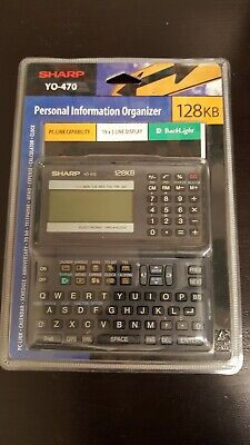 Sharp YO-470 128KB Personal Information Organizer (New & Sealed)
