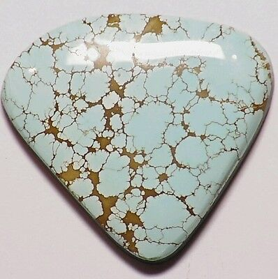 Rare Number #8 Mine Turquoise Stone 38.30Cts Mine Closed Collectible Spider Web
