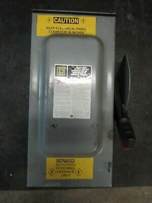 Square D H362Nrb Heavy Duty Safety Switch