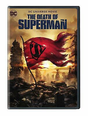 THE DEATH OF SUPERMAN (DC Universe) DVD (MINT Disc)