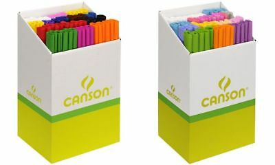 CANSON Krepppapier-Rolle, helle Farben, Display