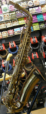 "1942 C.G. Conn 6M VIII ""Naked Lady"" Professional Eb Alto Saxophone with OHSC"