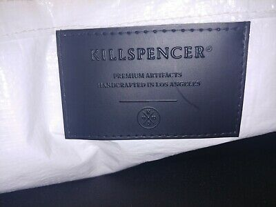 Killspencer Messenger Bag hand made in LA collectors item recycled tarp