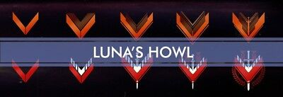 Luna's Howl FULL Quest & Recluse (2100/Fabled) - PS4 - Destiny 2
