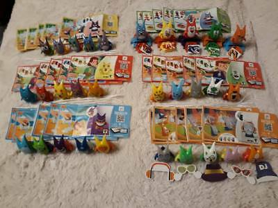 Kinder NEW Crazy Friends Animals Joy 2018. 30 PC complet  set  + all Bpz Hungary