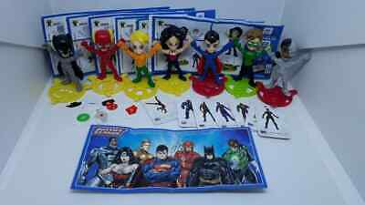 Kinder Joy Justice League complet set incl. Wonder Woman + all Bpz Slovakia