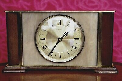 Vintage 'Metamec' Quartz Battery Powered Table Clock