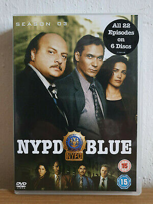 NYPD Blue - Series 3 - Complete (DVD, 2006, Box Set)