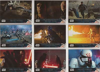 Star Wars - The Force Awakens Series 2 - Basis-Set (100 Karten) von Topps 2016