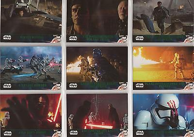 Star Wars - The Force Awakens Series 2 - Green-Parallel-Set von Topps 2016
